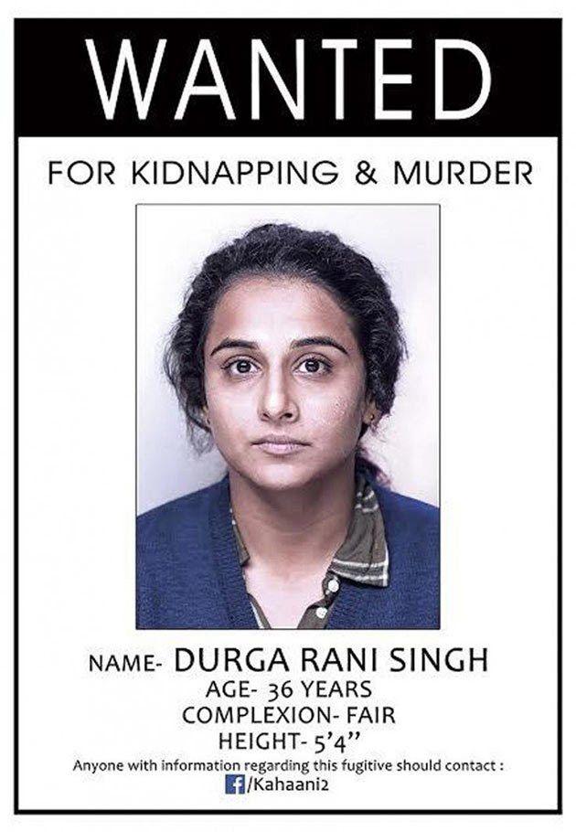 Meet, Wanted Criminal 'Durga Rani Singh' | First Look | Kahani 2