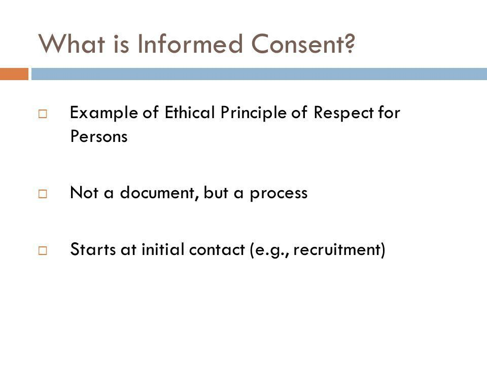 Common Problems in Informed Consent - ppt video online download