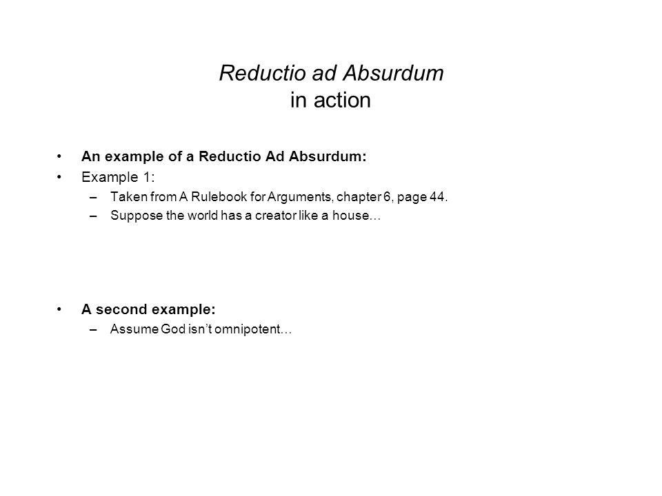 Introduction to Philosophy Lecture 3 An introduction to Deductive ...