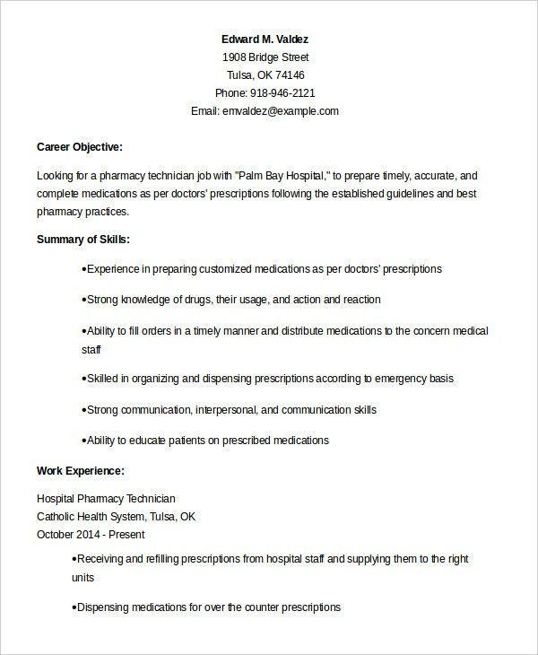Download Technician Resume | haadyaooverbayresort.com
