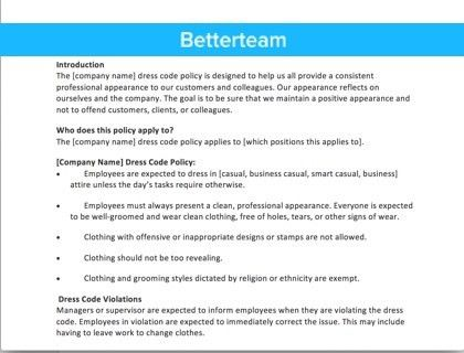 Company Cell Phone Policy - Downloadable Sample Templates