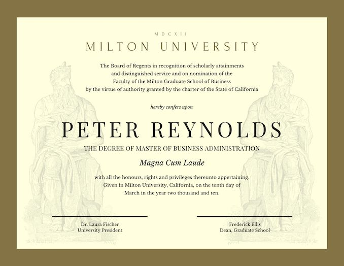 Free Online Certificate Maker: Design a Custom Certificate - Canva