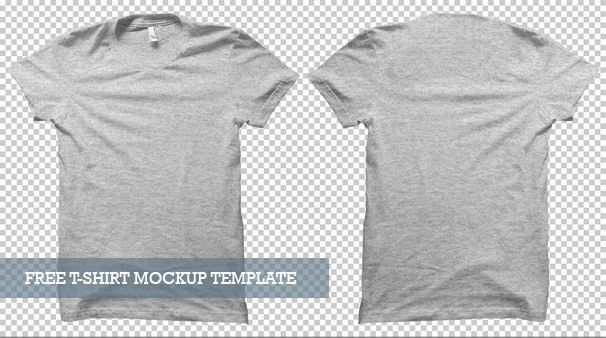 20 Free T-shirt Mockups for Designers | Inspirationfeed
