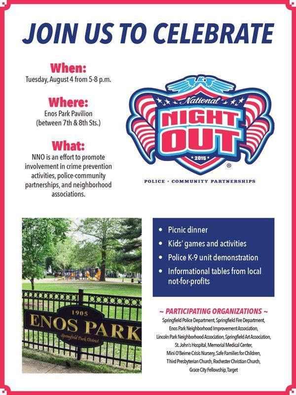 National Night Out Flyer Template | Template Design