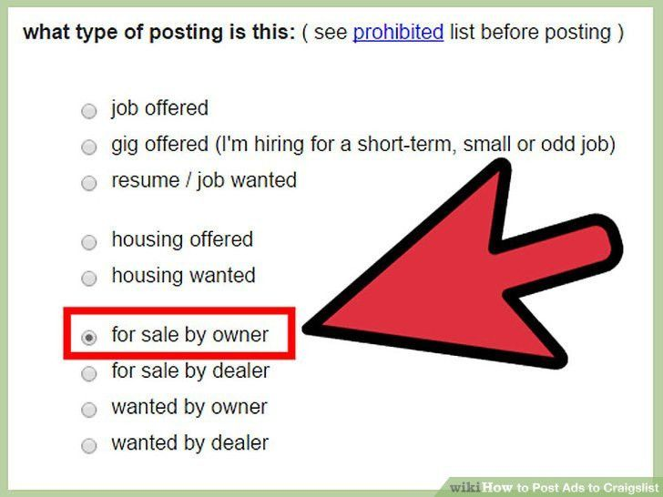 How to Post Ads to Craigslist (with Sample Ads) - wikiHow
