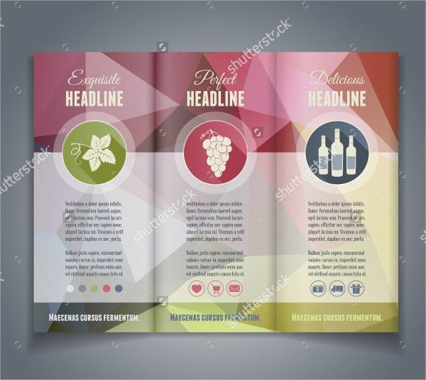 16+ Wine Brochure Templates - Free PSD, AI, Vector, EPS Format ...