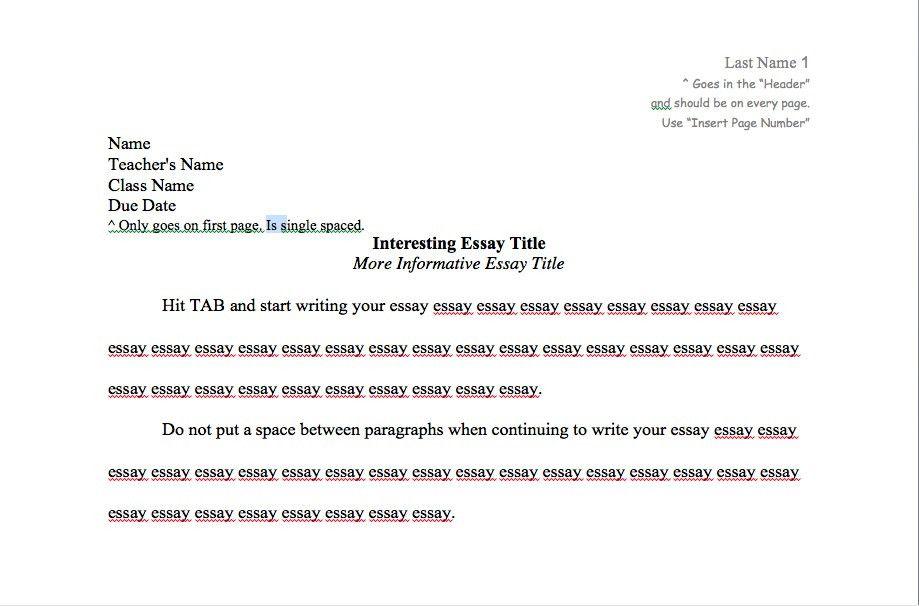 essay in proper mla format essay mla essay format template essay ...