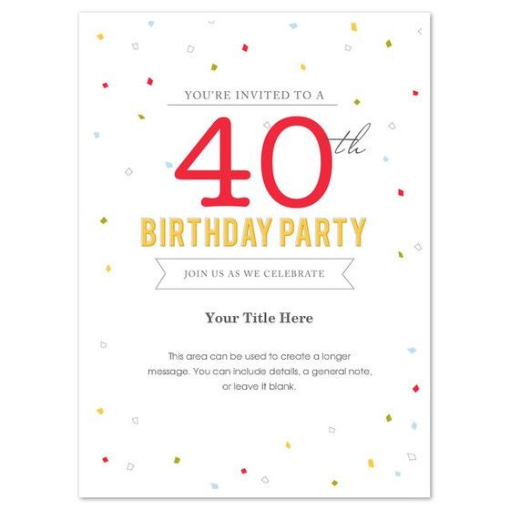 birthday invites outstanding birthday party invitation template - Party Invitation Template Word