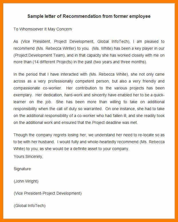 11+ testimonial letter template | science-resume