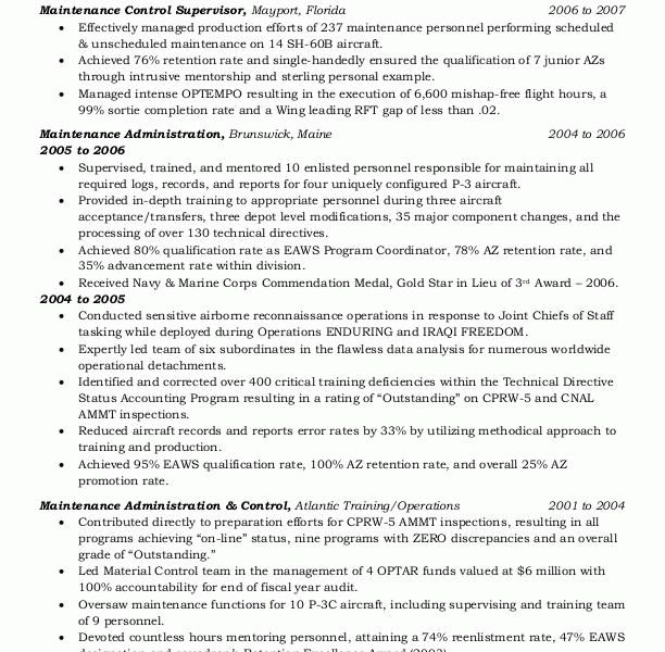 Marvellous Design Government Resume 4 Sample Resumes Federal Or ...
