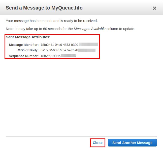 Tutorial: Sending a Message to an Amazon SQS Queue - Amazon Simple ...