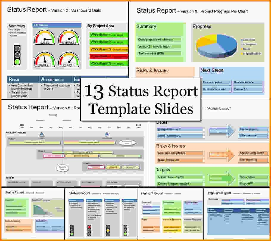 Project Status Reports.Microsoft Project Status Report Template ...