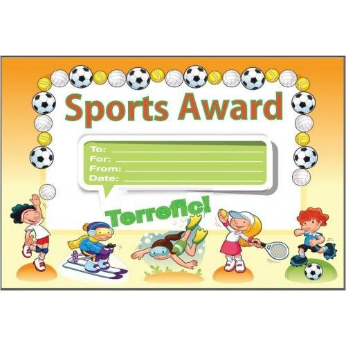 Sports Award Certificate, awards , certificates , incentives, GT ...