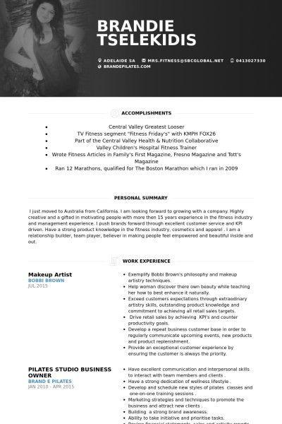 Makeup Artist Resume | | jvwithmenow.com