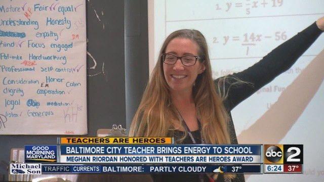 Benjamin Franklin high school teacher Meghan Riordan brings energy ...