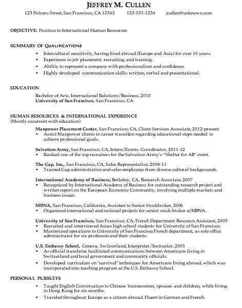 Interesting Inspiration Chronological Resume Samples 12 For ...