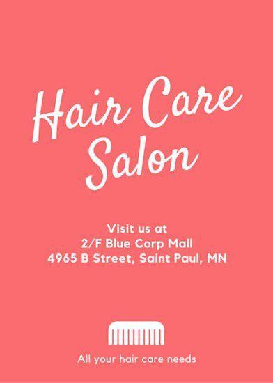 Hair Salon Flyer - Templates by Canva