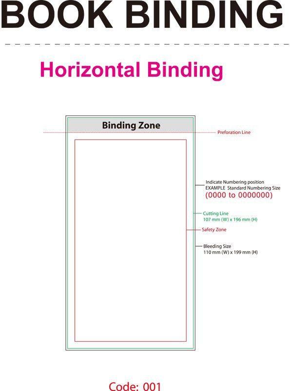 Bill Book Template ~ Gazzetto Design