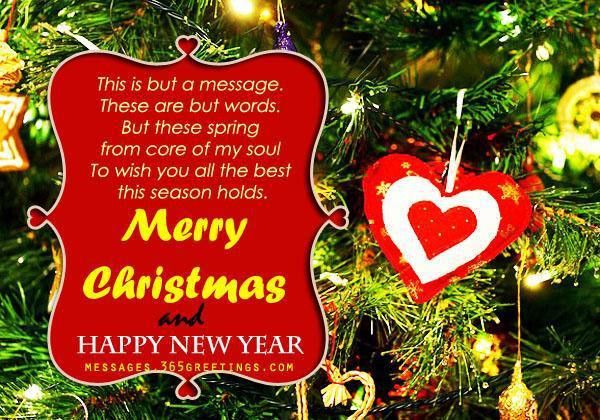Christmas Messages for Girlfriend - 365greetings.com