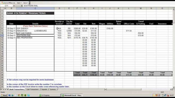 Printable Expense Sheet [Template.billybullock.us ]