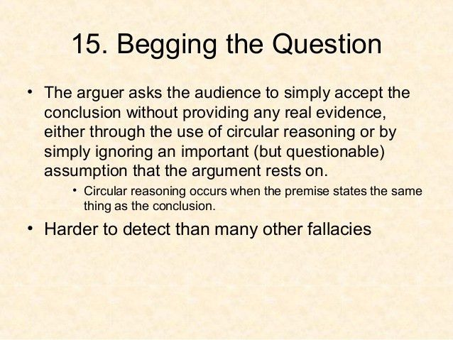 Logical fallacies powerpoint