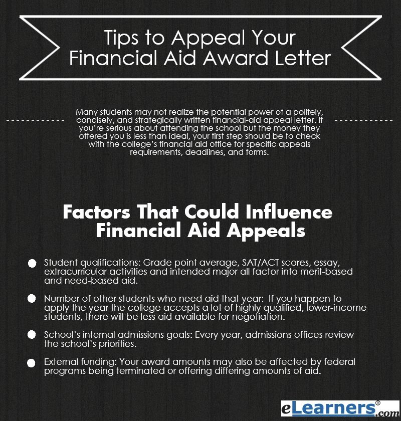 Effective Tips on How to Appeal Your Financial Aid Award Letter