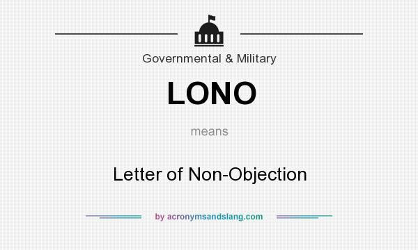 What does LONO mean? - Definition of LONO - LONO stands for Letter ...