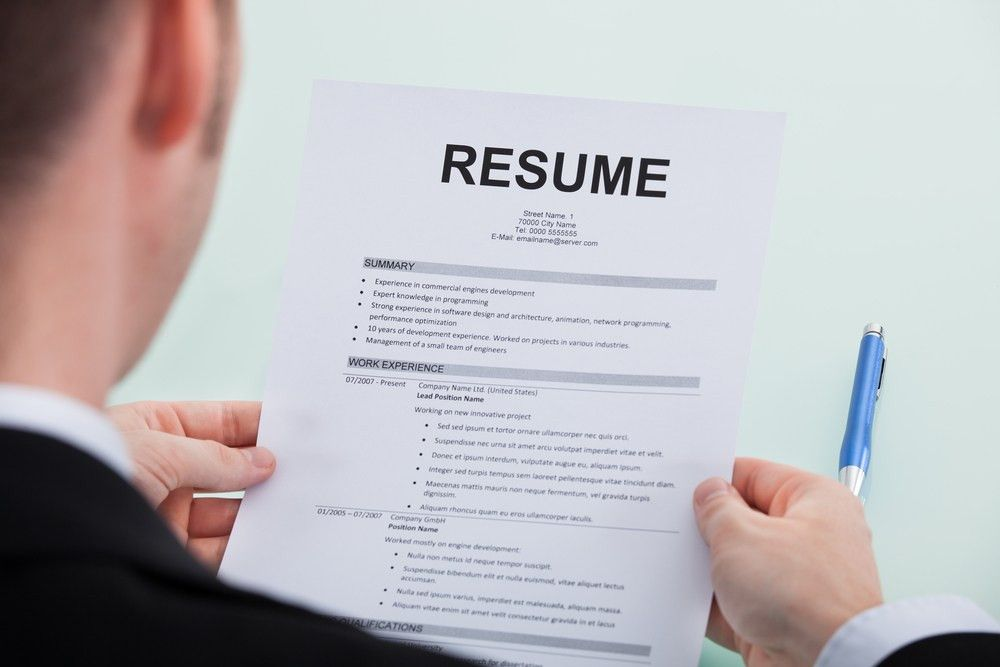 How To Update Your Resume - Resume Example