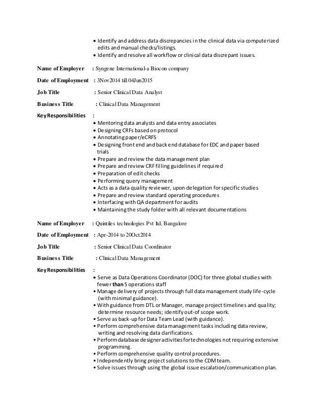 Bhavani Resume