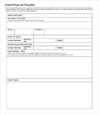 Request For Proposal Template - 8+Free Word, PDF Documents ...