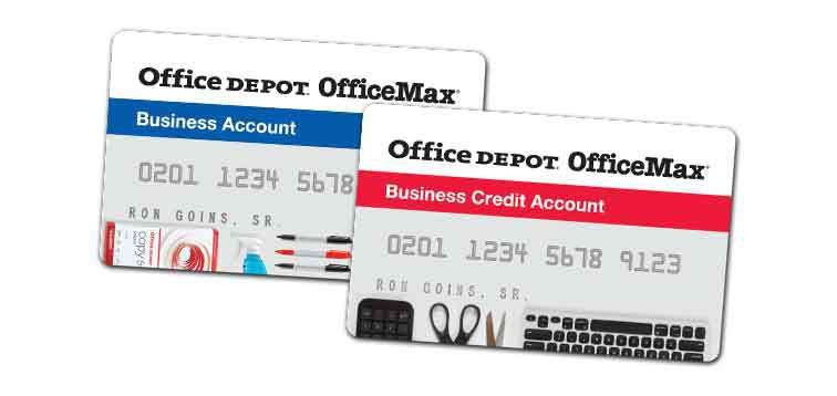 office depot business credit card office depot business credit ...