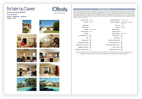 FREE FSBO FLYER TEMPLATE. Free Real estate FLYER template