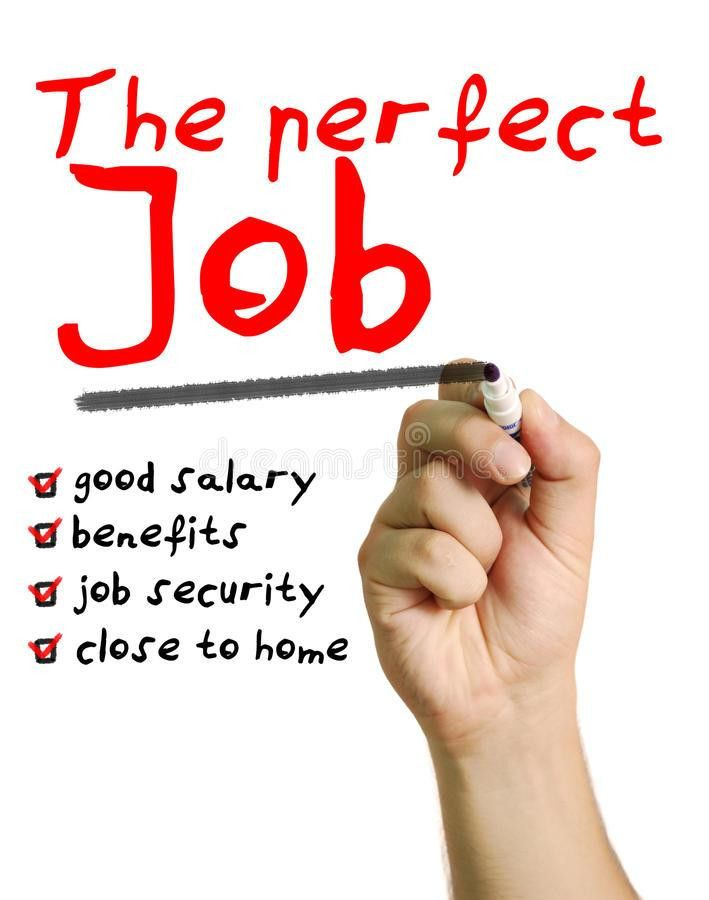 The Perfect Job Stock Photography - Image: 31608282