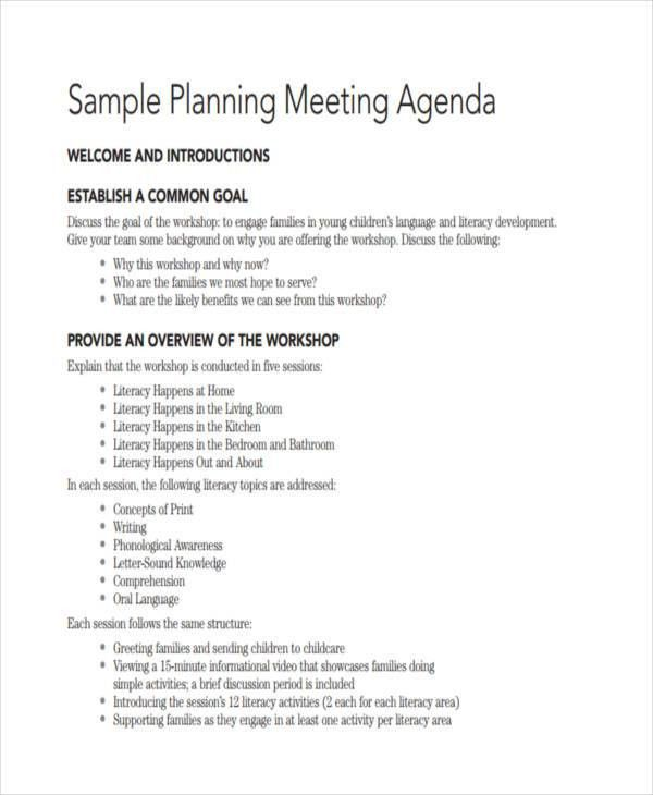 Meeting Agenda Samples. 20+ Meeting Agenda Templates   Word Excel .