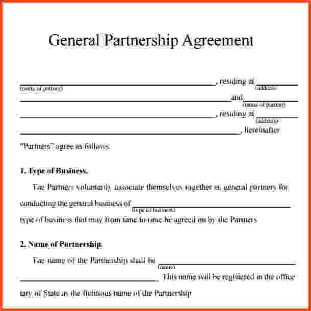 Partnership Agreement Template.partnership Agreement Contracts.jpg ...