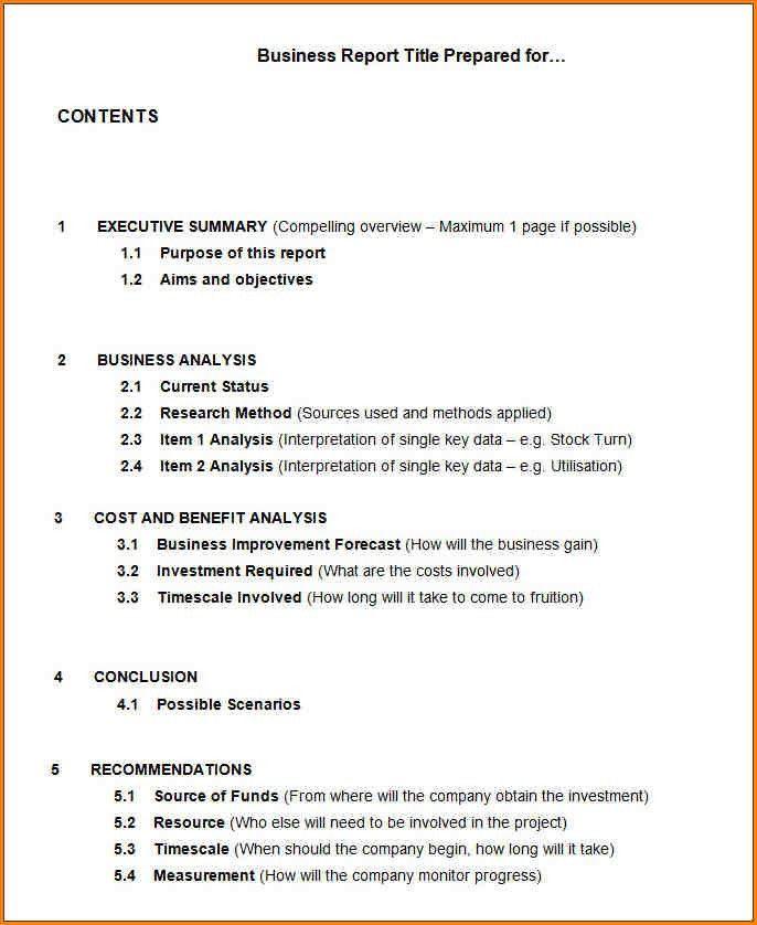 9+ sample business report | writable calendar