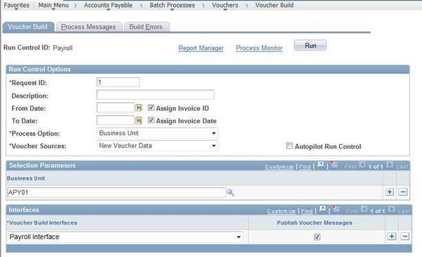 NAU - ITS - Creating a Voucher for Payroll - PS Financials