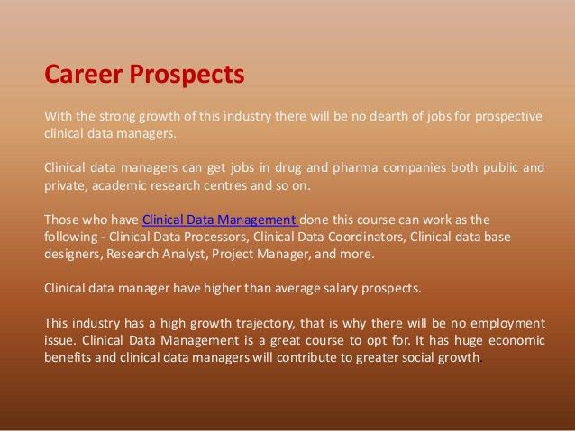 Clinical Data Management, Clinical Research Institute