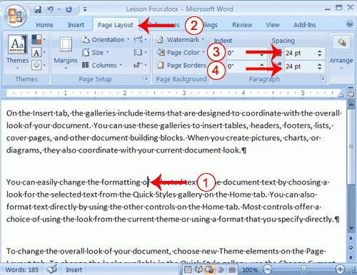 Microsoft Word Software