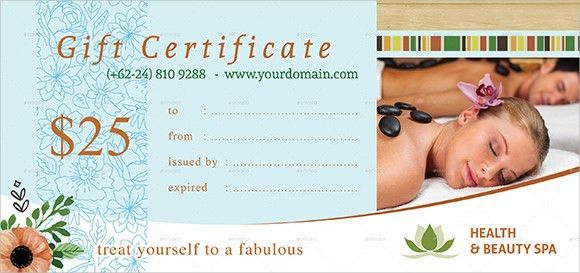 Gift Certificate Template - 9+ Sample, Example, Format