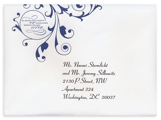 Stress Over Addressing Wedding Envelopes? The Elegant Envelope