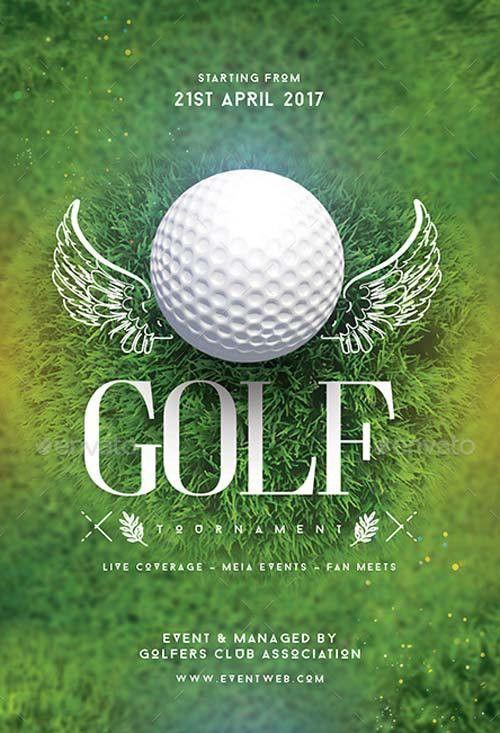 FFFLYER | Golf Tournament Flyer Template for Golf Events, Matches ...