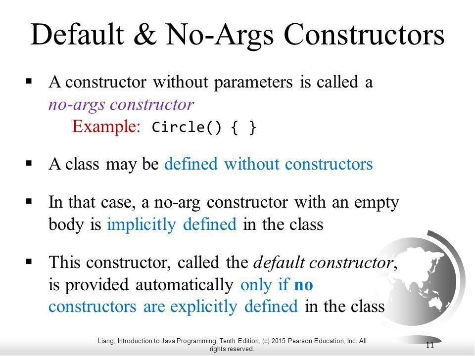 CS 112 Programming 2 Lecture 02 Objects and Classes (1) - ppt download