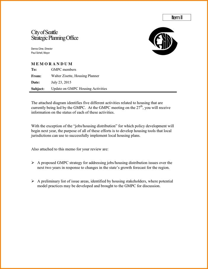 7+ Business Memo Sample | Worker Resume