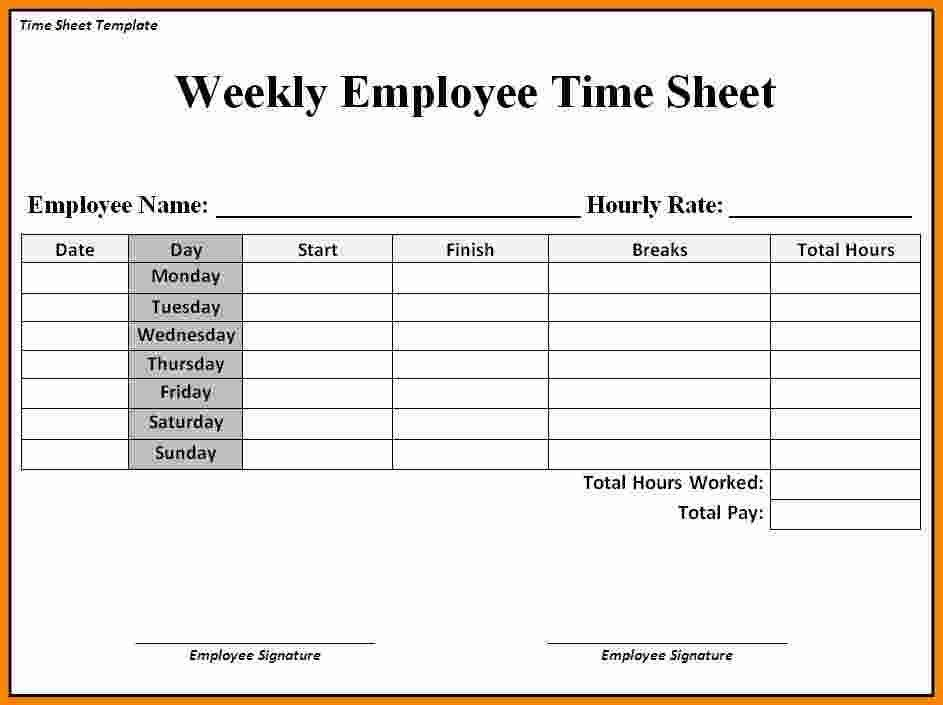 5+ job timesheet template | ledger paper