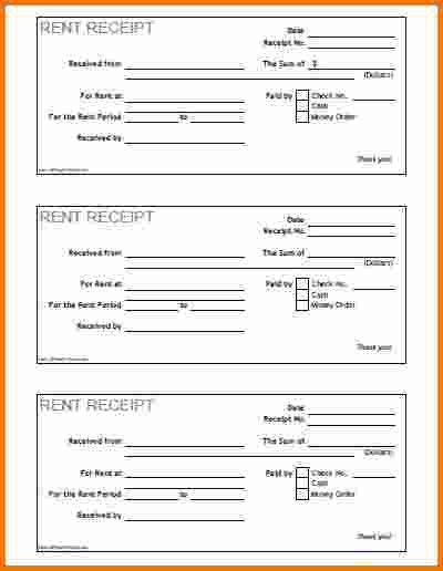 7+ free printable receipts | Expense Report