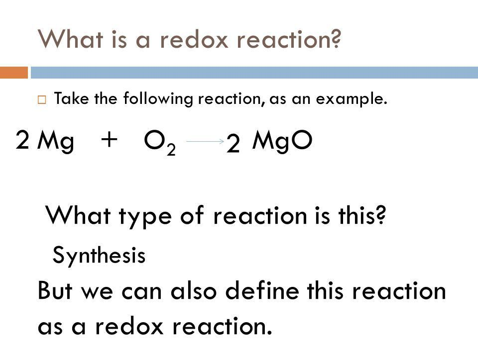REDOX Oxidation and Reduction Chapters 20 and ppt download