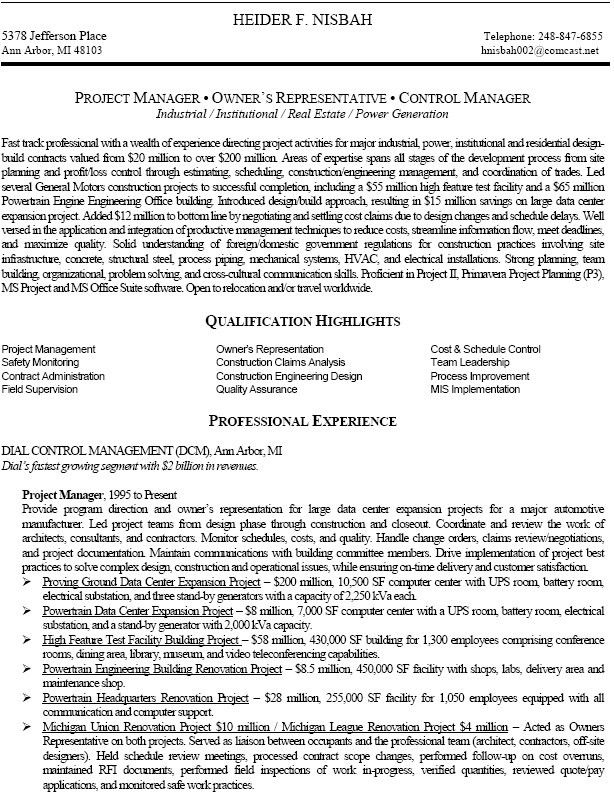 Download Rotating Equipment Engineer Sample Resume ...