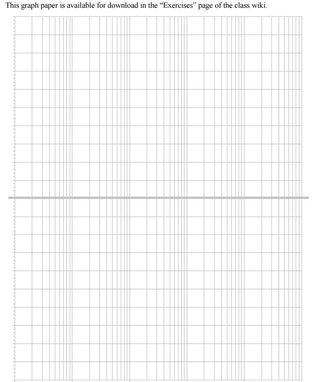 This Graph Paper Is Available For Download In The ... | Chegg.com