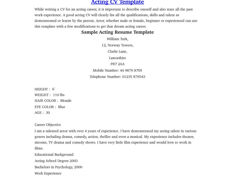 Download Beginner Resume | haadyaooverbayresort.com